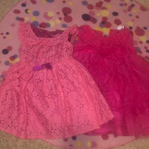 Two very cute pink 2t dresses